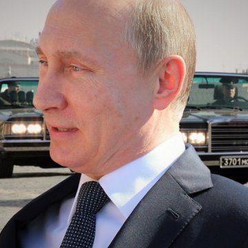 Avionul de aur al lui Vladimir Putin