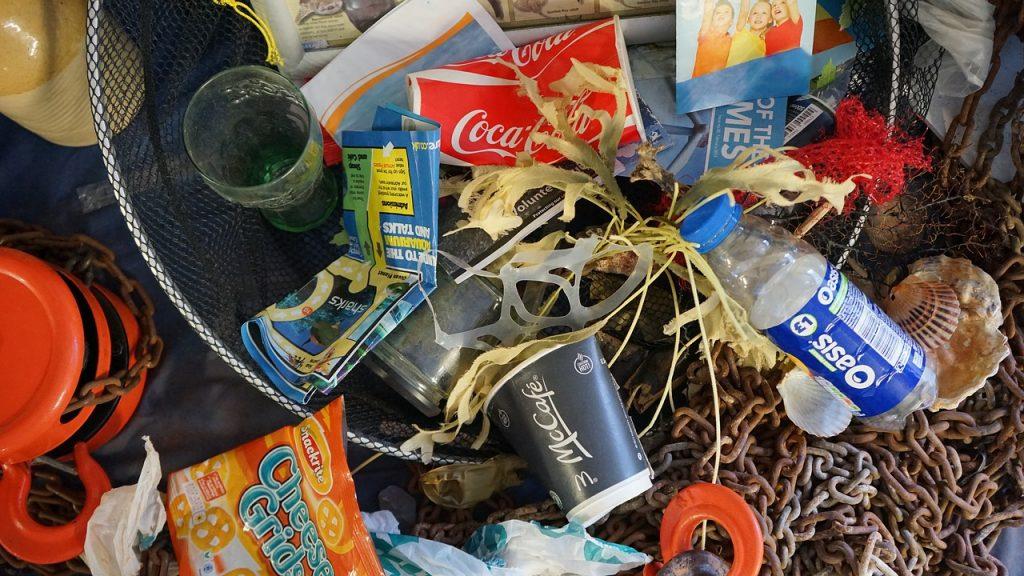 Poluarea prin plastic